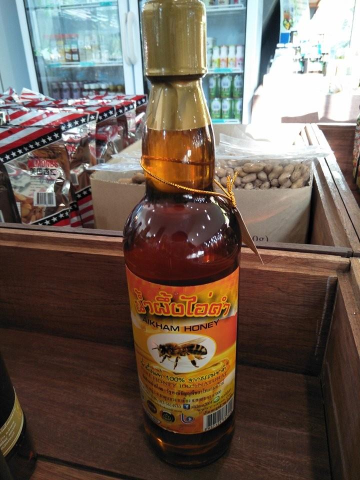 น้ำผึ้งแท้100% ดอกลำไย